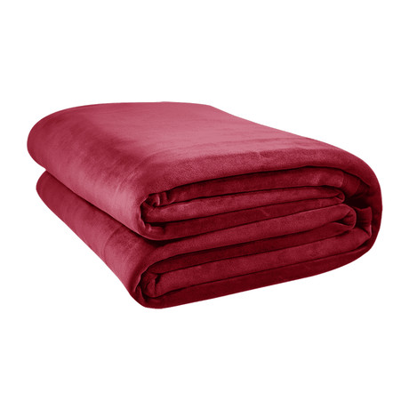 The Original Big Blanket // Crimson