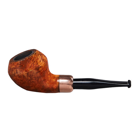 Baraccini Ole Shenandoah Copper Smooth Pipe // Rhodesian Straight