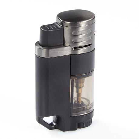 Rockwell // Quad Torch Lighter (Black)