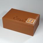 Diesel Leather Humidor // 75-Capacity