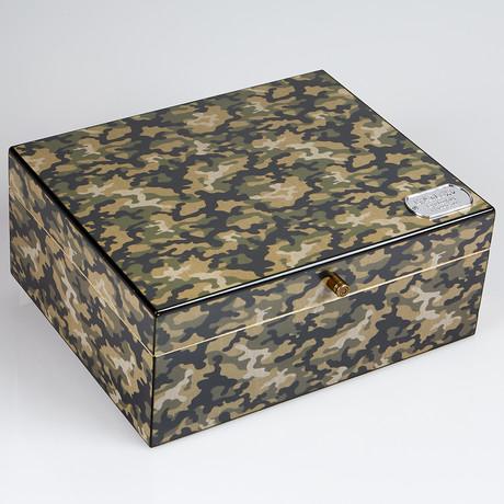 Rambo Camouflage Humidor (25-Capacity)
