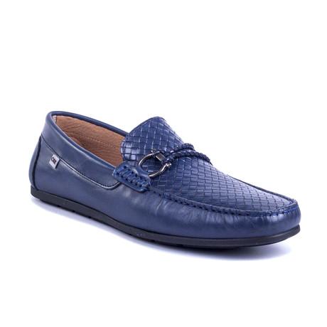 Bulmux Leather Moccasin // Blue (Euro: 39)