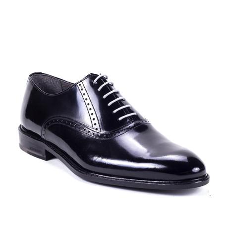 Aron Leather Oxford // Black (Euro: 39)