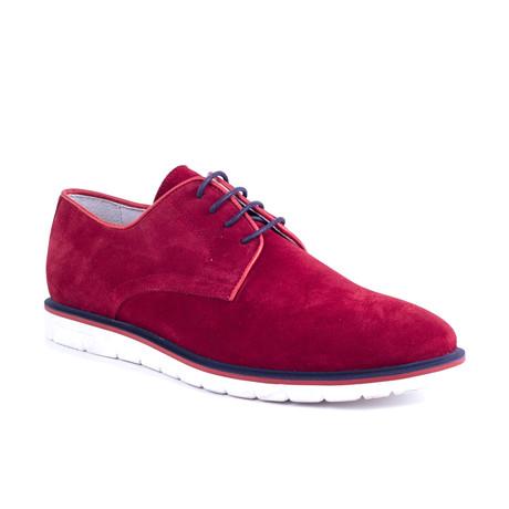 Selino Suede Sport Shoe // Red (Euro: 39)