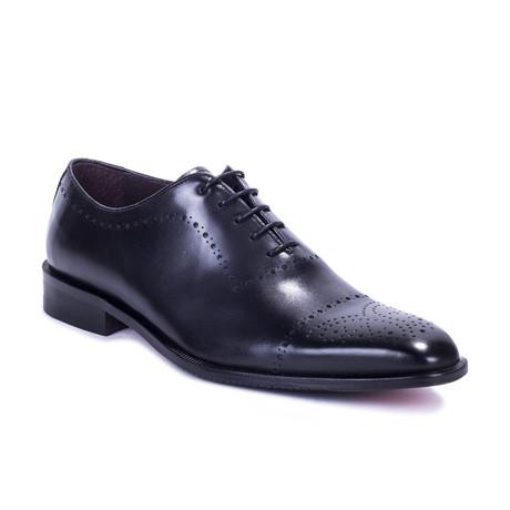 Torres Leather Oxford // Black (Euro: 39)