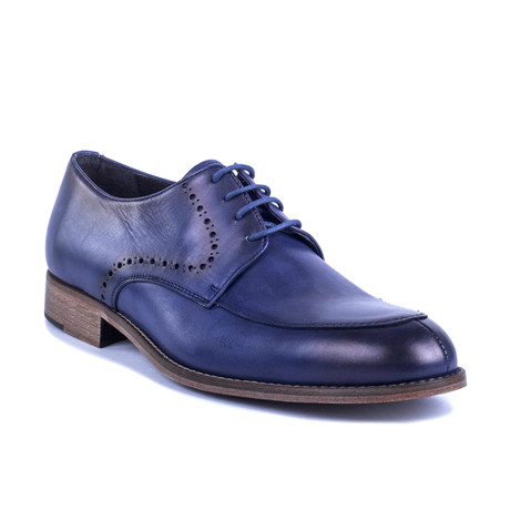 Vitolo Leather Derby // Blue (Euro: 39)