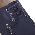 Noragu Nubuck Boat Shoe // Blue (Euro: 42)