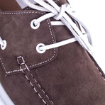 Nobita Nubuck Boat Shoe // Brown (Euro: 42)