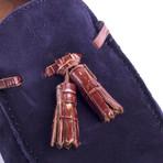 Secorla Leather Moccasin // Blue (Euro: 41)