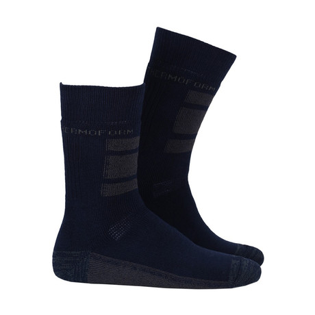 Keavy Sock // Navy (4-5)
