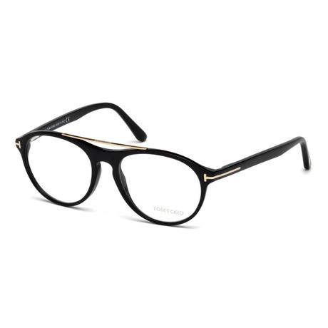 Unisex Aviator Eyeglasses // Black