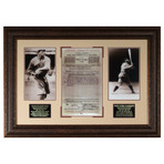 Babe Ruth Contract