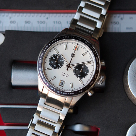 Straton Classic Driver Chronograph Quartz // Version C