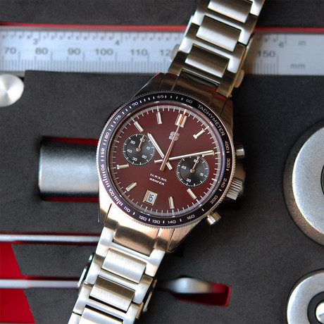 Straton Classic Driver Chronograph Quartz // Version E
