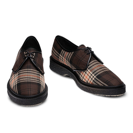 Jules Derby // Tartan Brown (Euro: 39)
