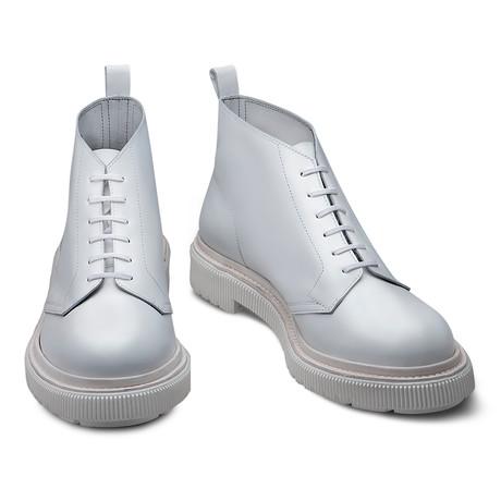 Colton Leather Boot // White (Euro: 39)