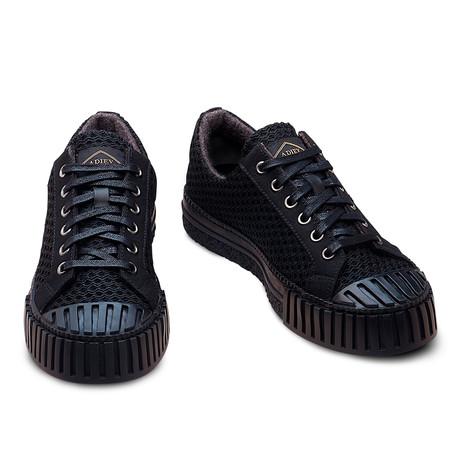 Atticus Fishnet Sneaker // Black (Euro: 39)