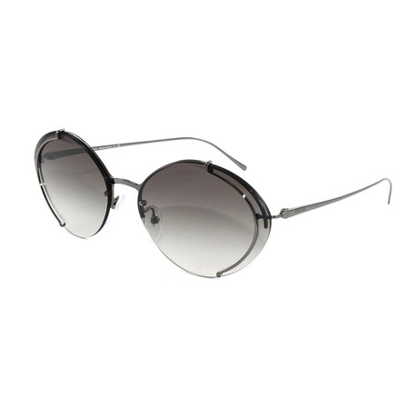 Women's PR60US Sunglasses // Gradient Gray + Mirror Silver
