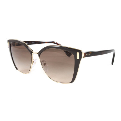 Women's PR56TS Sunglasses // Brown Gradient