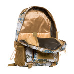 Something Helpful Backpack // Blue Camo + Khaki