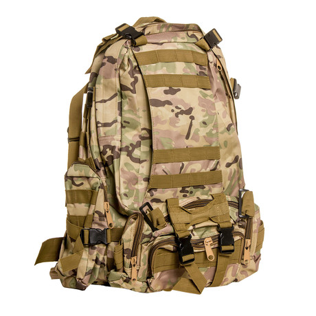 Something Spacious Backpack // Green Camo