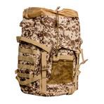 Something Oversized Backpack // Camo + Green
