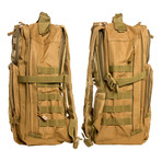 Something Helpful Backpack // Khaki
