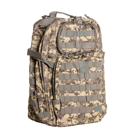 Something Basic Backpack // Camo