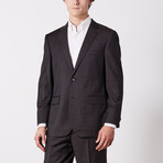 Paolo Lercara // Suit // Brown Solid Twill (US: 38S)