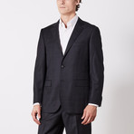 Paolo Lercara // Suit // Black Windowpane (US: 40S)