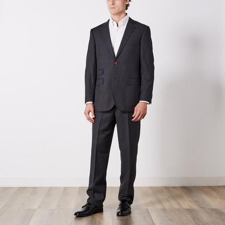 Paolo Lercara // Suit // Charcoal + Rust Window (US: 36S)