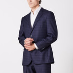 Paolo Lercara // Suit // Navy Trail Check (US: 42R)