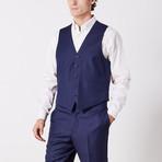 Via Roma // Classic Fit 3 Piece Suit // Navy Nailhead (US: 40S)