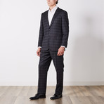 Paolo Lercara // Suit // Charcoal Dot Check (US: 42R)