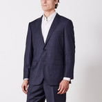 Paolo Lercara // Suit // Navy Fashion Pin (US: 42R)