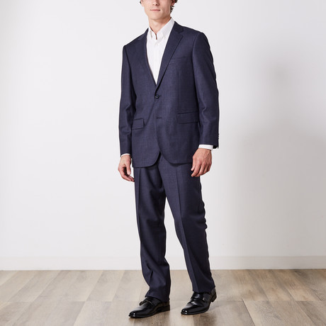Paolo Lercara // Suit // Navy Fashion Pin (US: 36S)