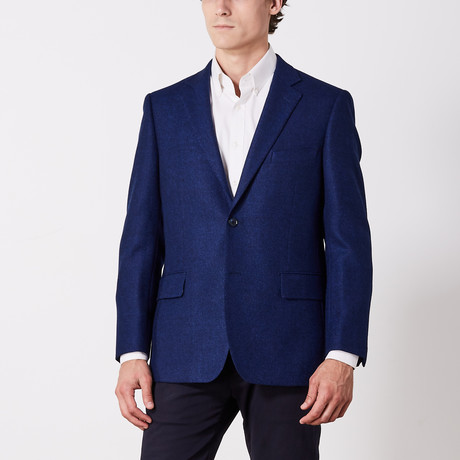 Via Roma // Classic Fit Sport Jacket // Blue Cashmere (US: 36S)