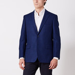 Via Roma // Classic Fit Sport Jacket // Blue Cashmere (US: 40S)