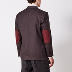 Paolo Lercara // Sport Jacket // Blue Microbox (US: 42R)