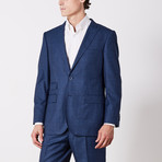 Paolo Lercara // Suit // Blue Fade Check (US: 42S)
