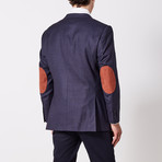 Via Roma // Classic Fit Sport Jacket // Blue (US: 40R)