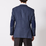 Paolo Lercara // Sport Jacket // Blue + Black Check (US: 36S)