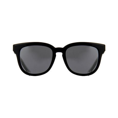 Dior // Men's BLACKTIE213FS Sunglasses // Black + Silver Mirror