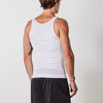 Men's Compression and Body-Support Undershirt // White (Small)