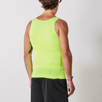 Men's Compression and Body-Support Undershirt // Lime (Medium)