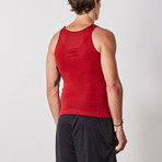 Men's Compression and Body-Support Undershirt // Red (Medium)