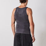 Men's Compression and Body-Support Undershirt // Gray (X-Large)