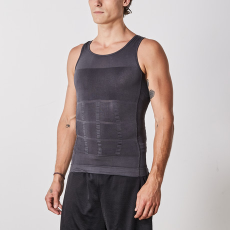 Men's Compression and Body-Support Undershirt // Gray (Small)
