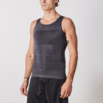 Men's Compression and Body-Support Undershirt // Gray (Large)