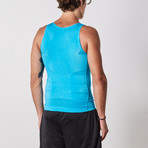 Men's Compression and Body-Support Undershirt // Light Blue (Small)